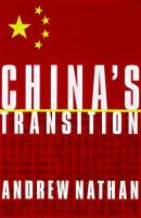 Abbildung von Nathan | China's Transition | 1998