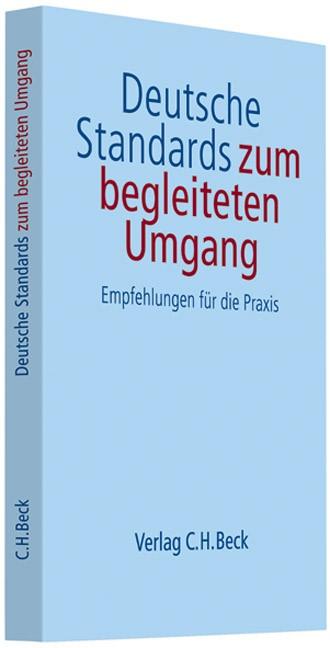 Deutsche Standards zum begleiteten Umgang, 2007 (Cover)
