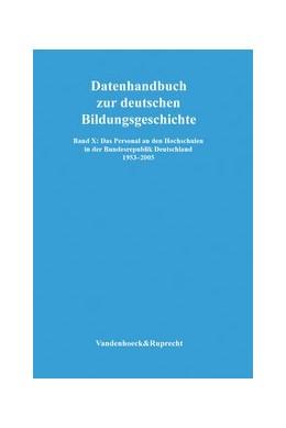 Abbildung von Lundgreen | Das Personal an den Hochschulen in der Bundesrepublik Deutschland 1953–2005 | 2009