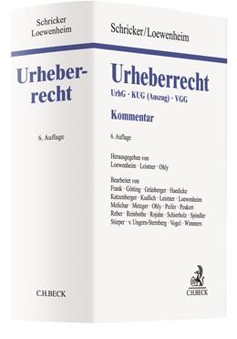 Abbildung von Schricker / Loewenheim | Urheberrecht | 6., neu bearbeitete Auflage | 2020 | UrhG, KUG (Auszug), VGG