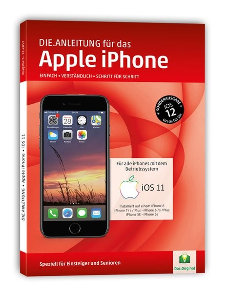 Die.Anleitung für das iPhone mit iOS 11 | Oestreich, 2017 | Buch (Cover)