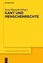 Kant und Menschenrechte | Mosayebi, 2018 | Buch (Cover)
