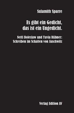 Abbildung von Sparre   Es gibt ein Gedicht, das ist ein Ungedicht.   1. Auflage   2017   beck-shop.de