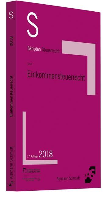 Skript Einkommensteuerrecht | Kreft | 17. Auflage, 2018 | Buch (Cover)