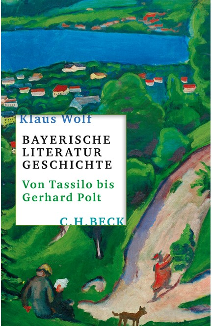 Cover: Klaus Wolf, Bayerische Literaturgeschichte