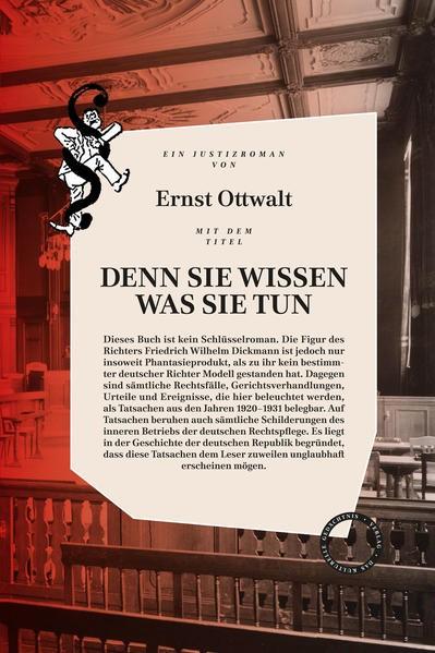 DENN SIE WISSEN WAS SIE TUN | Ottwalt, 2017 | Buch (Cover)