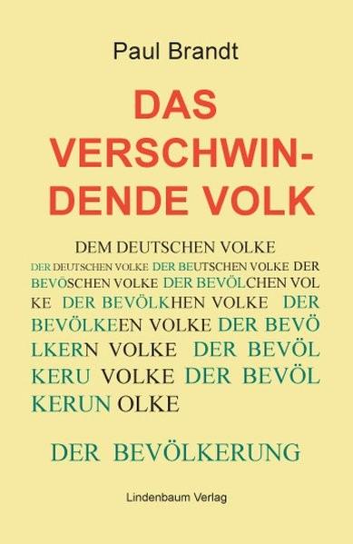 Das verschwindende Volk   Brandt, 2017   Buch (Cover)