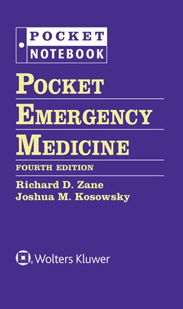 Abbildung von Zane / Kosowsky | Pocket Emergency Medicine | 2018