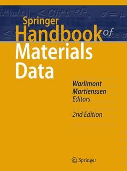 Abbildung von Warlimont / Martienssen | Springer Handbook of Materials Data | 2. Auflage | 2018 | beck-shop.de