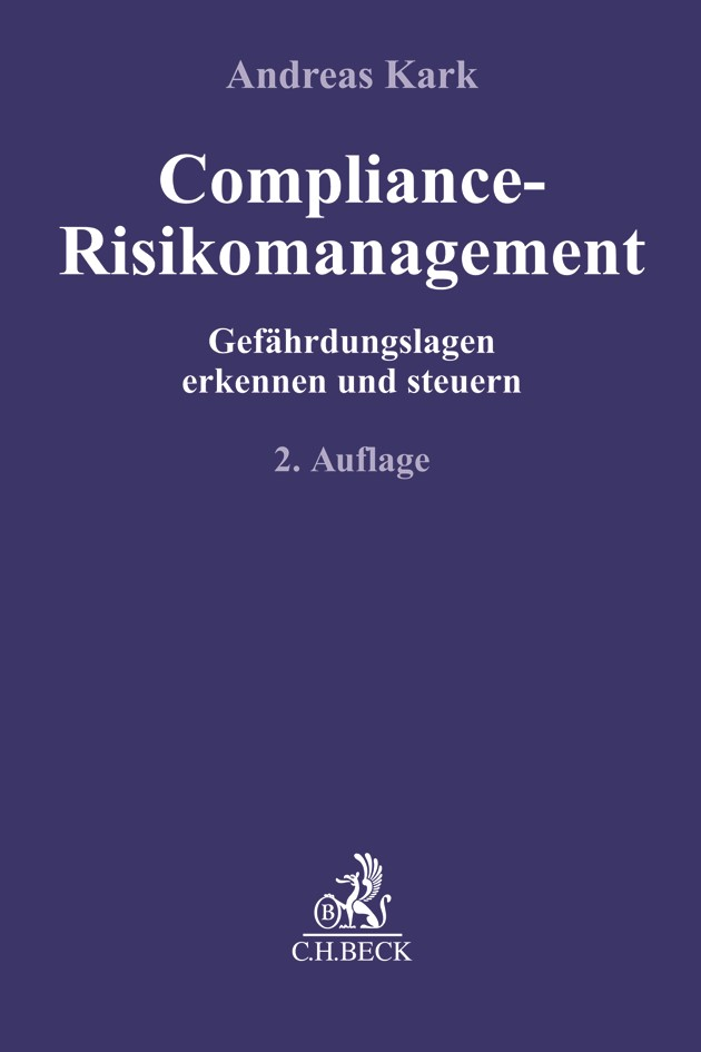 Compliance-Risikomanagement | Kark | 2. Auflage, 2019 | Buch (Cover)