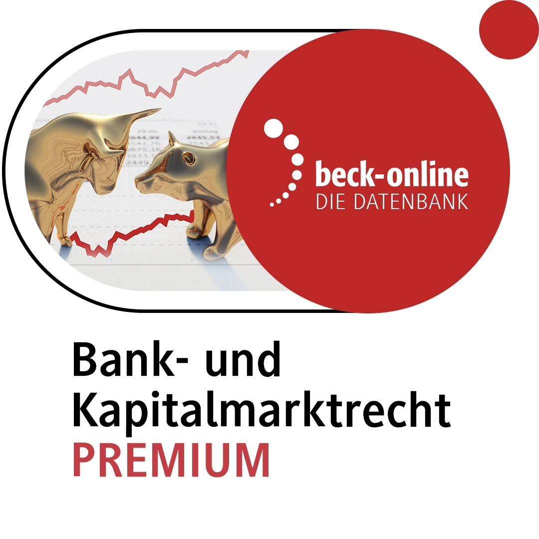 beck-online. Bank- und Kapitalmarktrecht PREMIUM (Cover)
