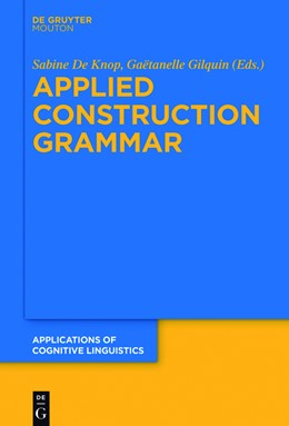 Abbildung von De Knop / Gilquin | Applied Construction Grammar | 1. Auflage | 2017 | 32 | beck-shop.de
