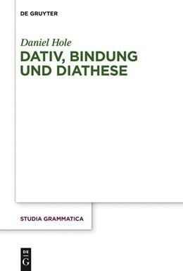 Abbildung von Hole | Dativ, Bindung und Diathese | 2017 | 78