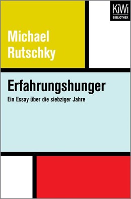 Abbildung von Rutschky   Erfahrungshunger   1. Auflage   2017   beck-shop.de