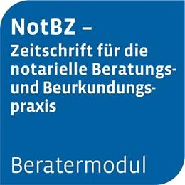 Abbildung von Otto Schmidt online: Beratermodul NotBZ - Notarielle Beratungs- und Beurkundungspraxis