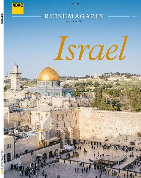 ADAC Reisemagazin Israel   Auflage 2018, 2018   Buch (Cover)