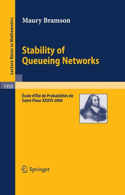 Stability of Queueing Networks | Bramson, 2008 | Buch (Cover)