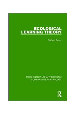 Abbildung von Davey | Ecological Learning Theory | 1. Auflage | 2018 | beck-shop.de