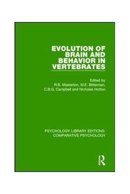 Abbildung von Masterton / Bitterman / Campbell / Hotton | Evolution of Brain and Behavior in Vertebrates | 2018