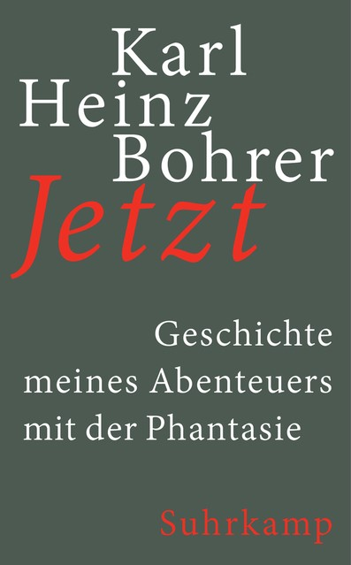 Jetzt   Bohrer, 2018   Buch (Cover)