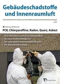Gebäudeschadstoffe und Innenraumluft: PCB, Chlorparaffine, Radon, Quarz, Asbest | Bossemeyer / Grün / Zwiener, 2017 | Buch (Cover)