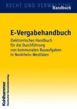 Abbildung von E-Vergabehandbuch | 2008 | Elektronisches Handbuch für di...