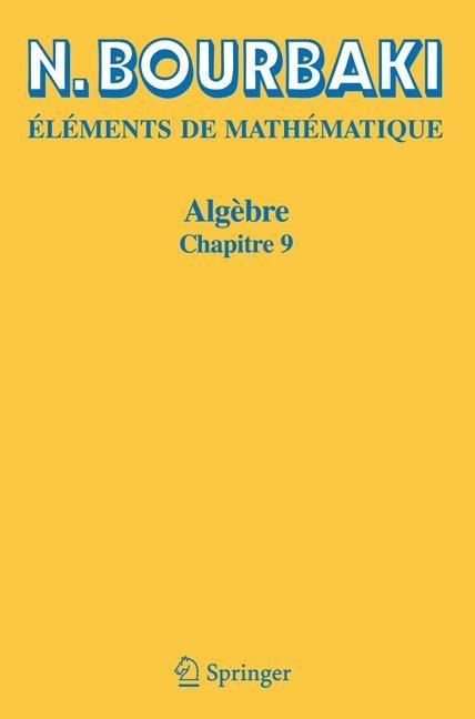 Algèbre | Bourbaki | Réimpression inchangée de l'édition de 1959., 2006 | Buch (Cover)