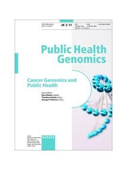 Abbildung von Malats / Katsila | Cancer Genomics and Public Health | 1. Auflage | 2017 | beck-shop.de