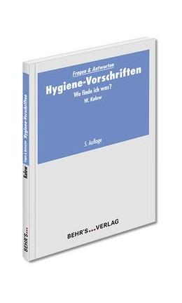 Abbildung von Kulow | Hygiene-Vorschriften | 5. Auflage | 2017 | beck-shop.de