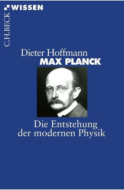 Cover: Dieter Hoffmann, Max Planck