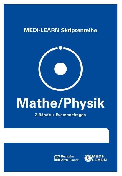 MEDI-LEARN Skriptenreihe: Mathe/Physik im Paket | Dutzmann / Schmitt | komplett überarbeitete Auflage, 2018 | Buch (Cover)
