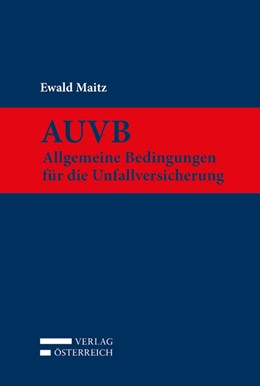 Abbildung von Maitz   AUVB   1. Auflage   2017   beck-shop.de