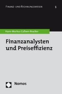Abbildung von Callsen-Bracker | Finanzanalysten und Preiseffizienz | 2007