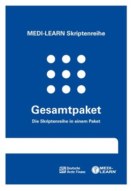 Abbildung von MEDI-LEARN Verlag GbR | MEDI-LEARN Skriptenreihe: Gesamtpaket | 4., komplett überarbeitete Auflage | 2018 | Die komplette MEDI-LEARN Skrip...