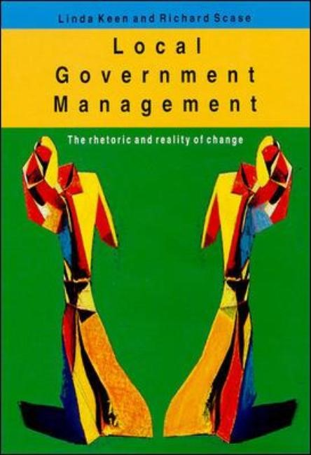 Local Government Management, 1998 | Buch (Cover)