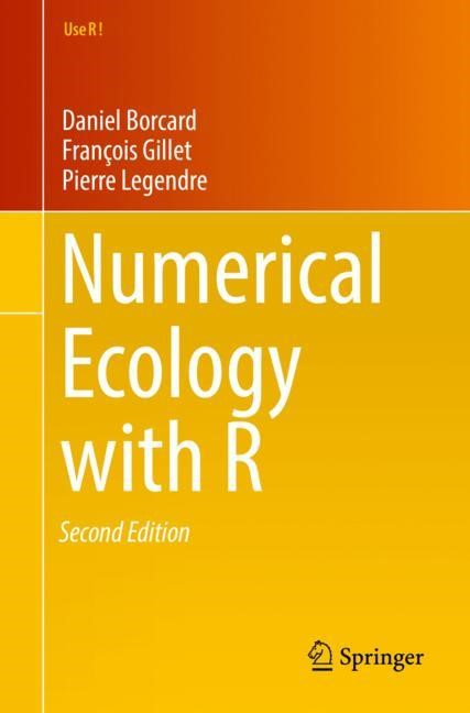 Numerical Ecology with R | Borcard / Gillet / Legendre | 2nd ed. 2018, 2017 | Buch (Cover)