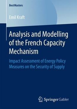 Abbildung von Kraft | Analysis and Modelling of the French Capacity Mechanism | 1st ed. 2017 | 2017 | Impact Assessment of Energy Po...