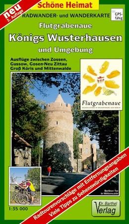 Abbildung von Flutgrabenaue Königs Wusterhausen und Umgebung 1 : 35 000. Radwander- und Wanderkarte | 3., Aufl | 2017 | Ausflüge zwischen Zossen, Prie...