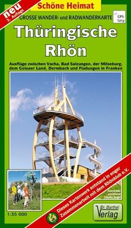 Abbildung von Thüringische Rhön 1 : 35 000. Radwander- und Wanderkarte | 3., Aufl | 2017 | Ausflüge zwischen Vacha, Bad S...