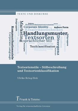 Abbildung von Krieg-Holz | Textsortenstile - Stilbeschreibung und Textsortenklassifikation | 2017