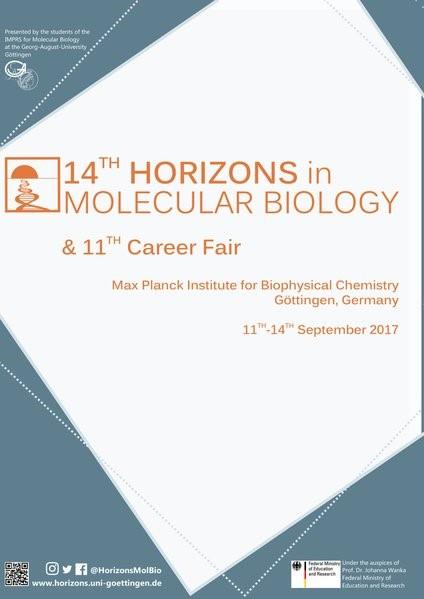 Abbildung von 14th Horizons in Molecular Biology | 2017