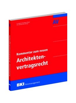 Abbildung von Kraushaar / Zimmermann | BKI Kommentar zum neuen Architektenvertragsrecht | 1. Auflage | 2017 | beck-shop.de