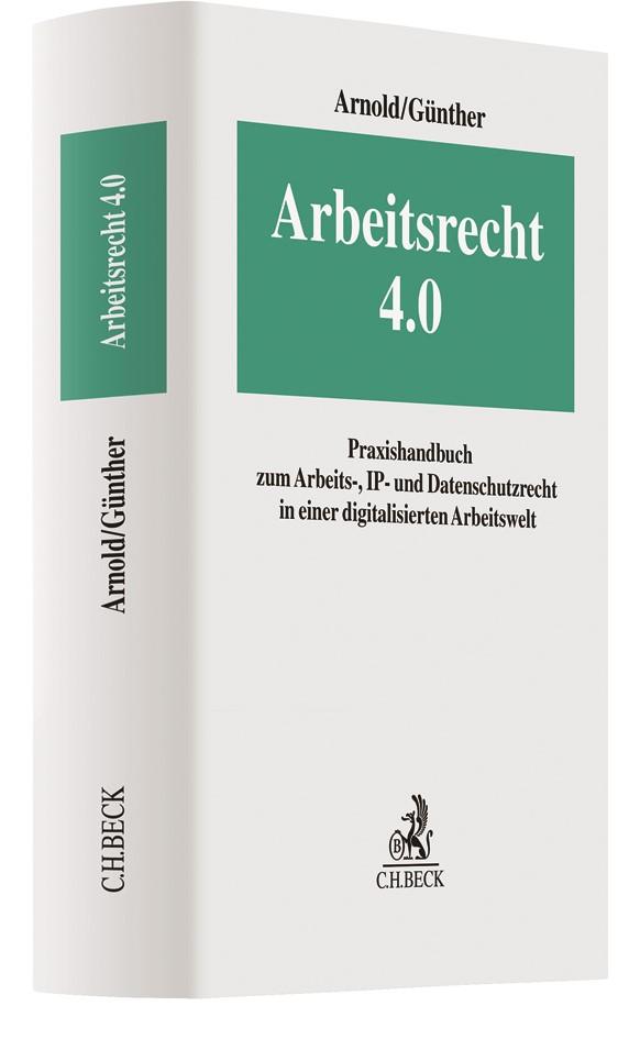 Arbeitsrecht 4.0 | Arnold / Günther, 2018 | Buch (Cover)