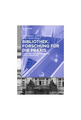Abbildung von Hauke / Kaufmann | Bibliothek - Forschung für die Praxis | 1. Auflage | 2017 | beck-shop.de