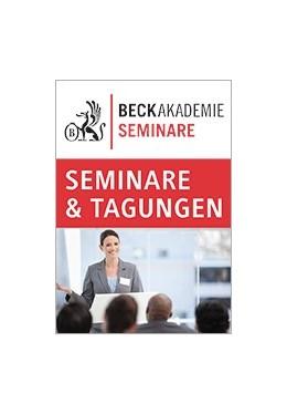 Abbildung von Aktuelles Insolvenzanfechtungsrecht in der Rechtsprechung (LIVE-WEBINAR) | | | beck-shop.de
