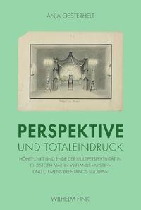Perspektive und Totaleindruck | Oesterhelt | 1. Aufl. 2011, 2011 | Buch (Cover)
