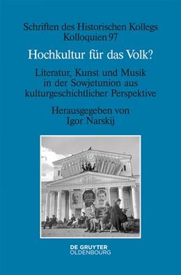 Abbildung von Narskij | Hochkultur für das Volk? | 2018 | Literatur, Kunst und Musik in ... | 97