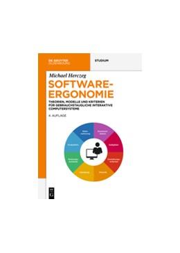 Abbildung von Herczeg | Software-Ergonomie | 4. Auflage | 2018 | beck-shop.de