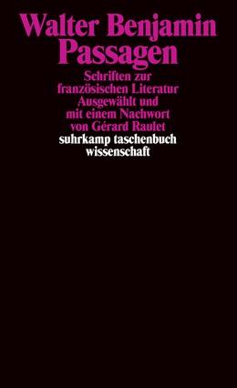Abbildung von Benjamin | Passagen | OA | 2007 | Schriften zur französischen Li... | 1839