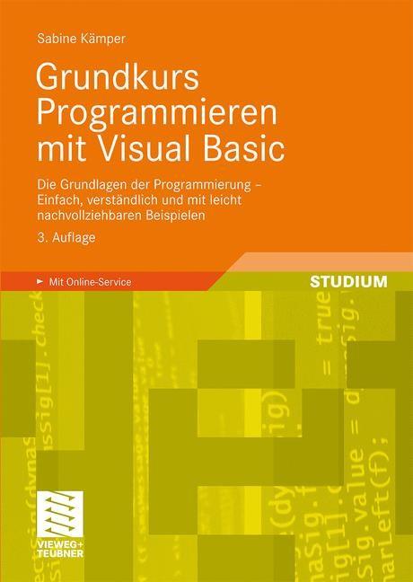 Abbildung von Kämper | Grundkurs Programmieren mit Visual Basic | 3., aktual. Aufl. | 2009